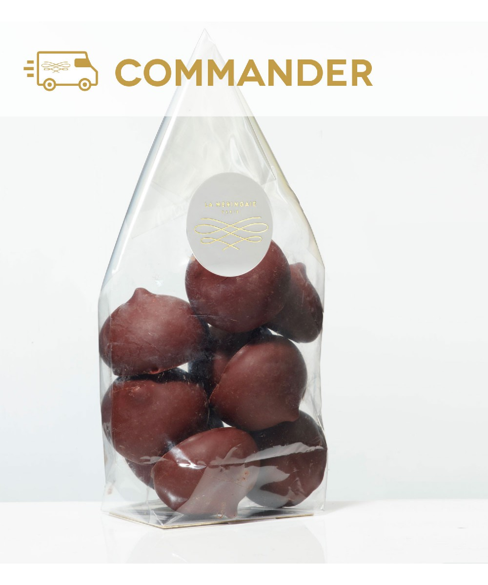 Meringuettes chocolat lait