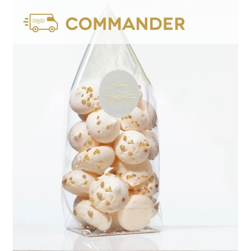 Petites meringues aux fruits secs - noisettes